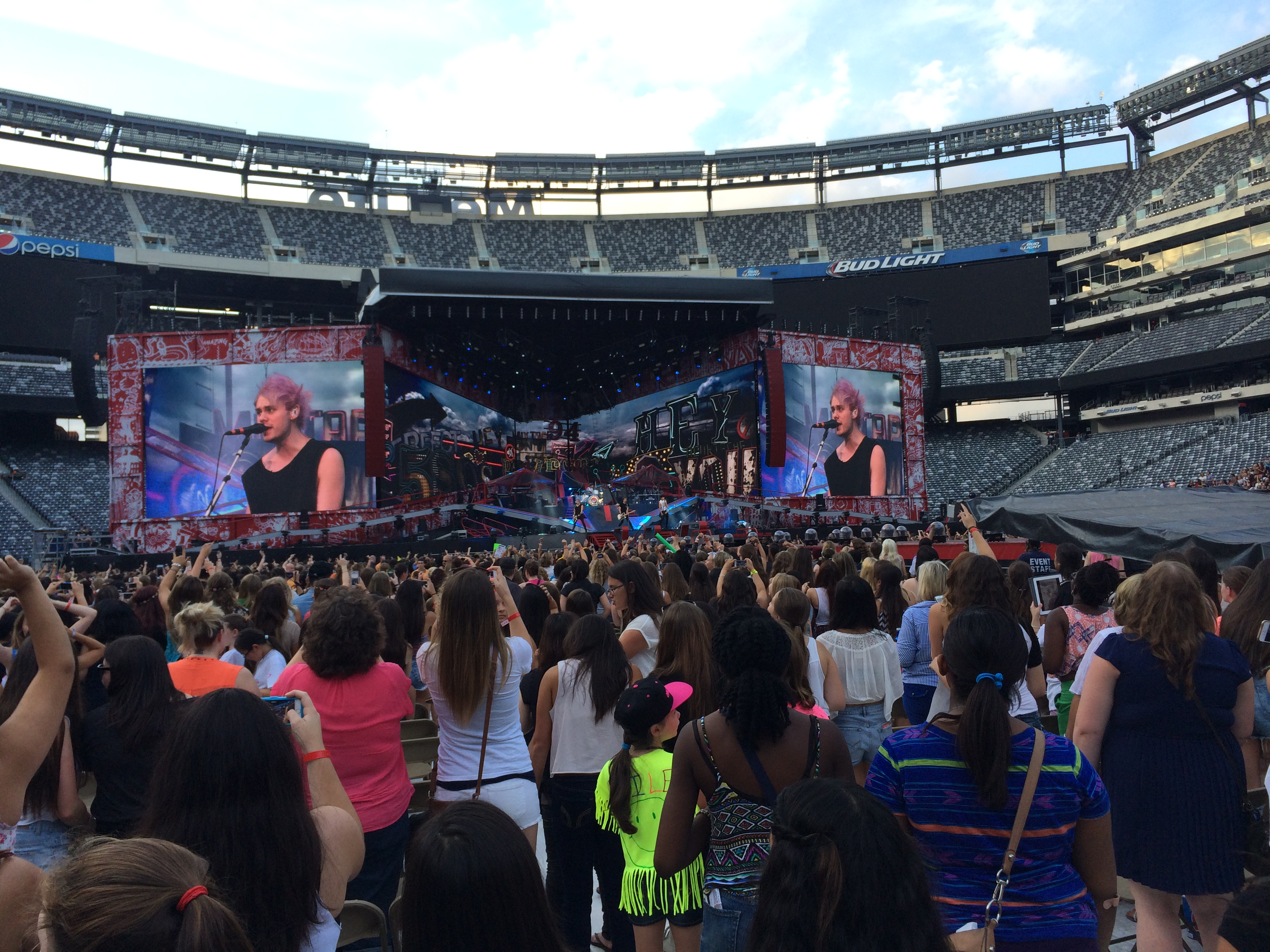Metlife Stadium Floor Plan: Metlife Stadium Concert Seating View