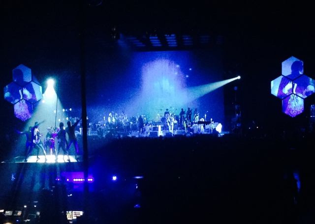 Arcade Fire, Barclays Center, Crushing Vinyl, Live Music NYC